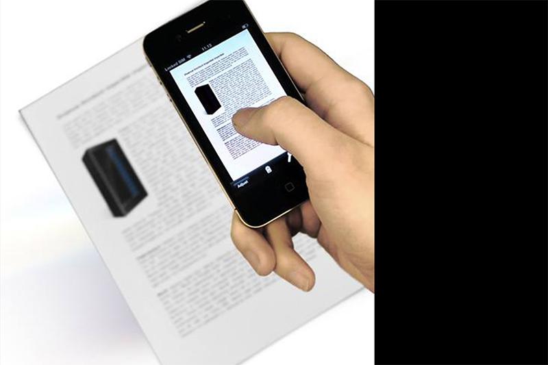 iPhone扫描文件