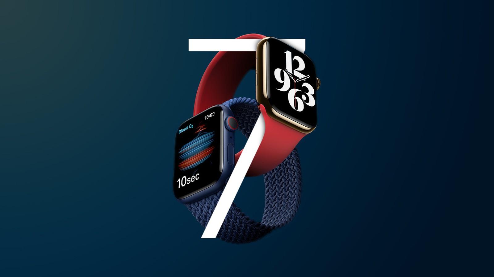 """Apple Watch Series 7将采用更小的""""S7""""芯片"""