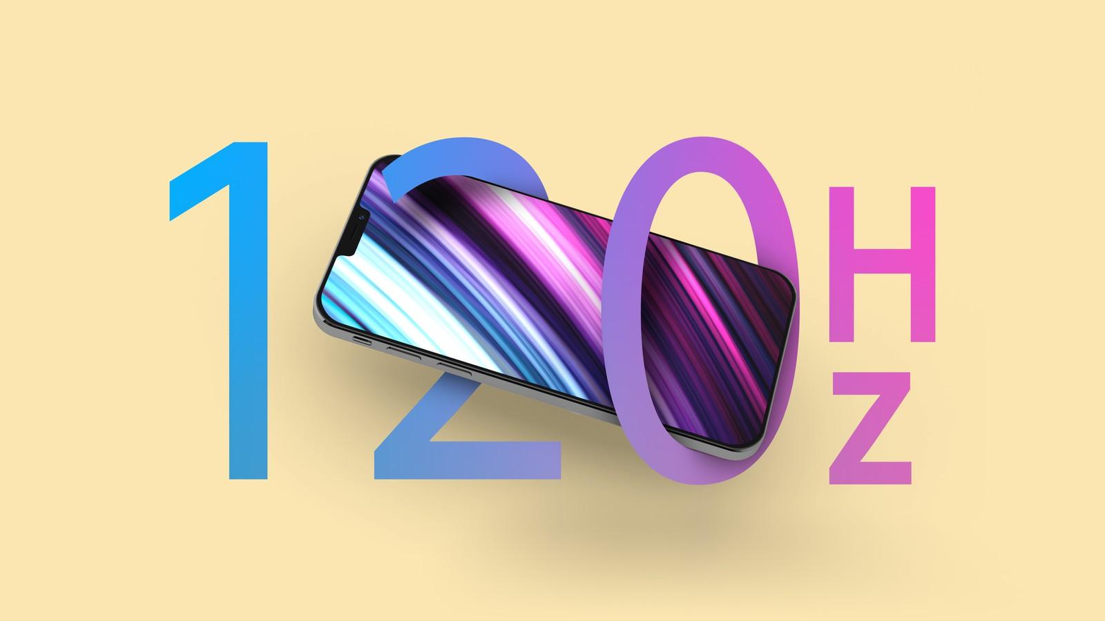 两款iPhone 13 Pro机型预计将采用LTPO显示技术支持120Hz刷新率