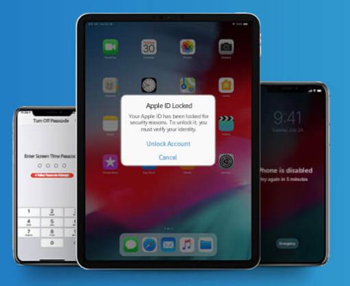 iPad被锁