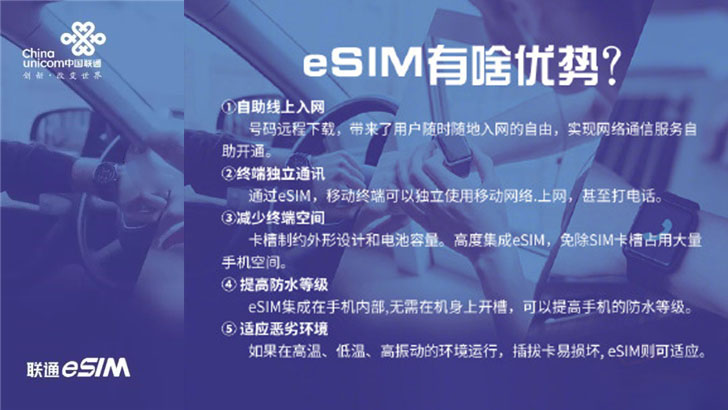 联通eSIM