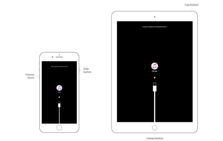 通过iTunes解锁iPad