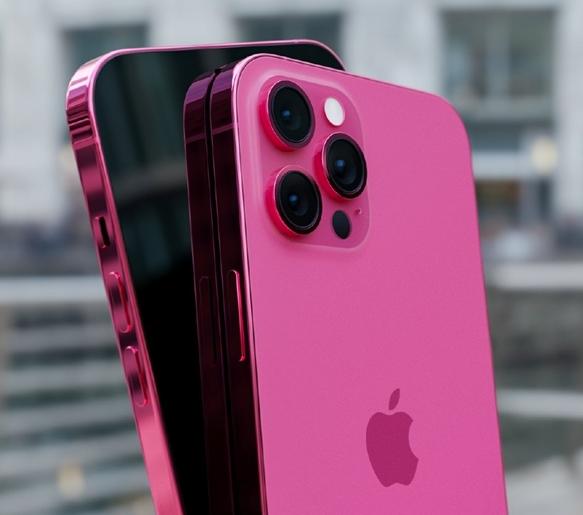 iPhone玫瑰粉