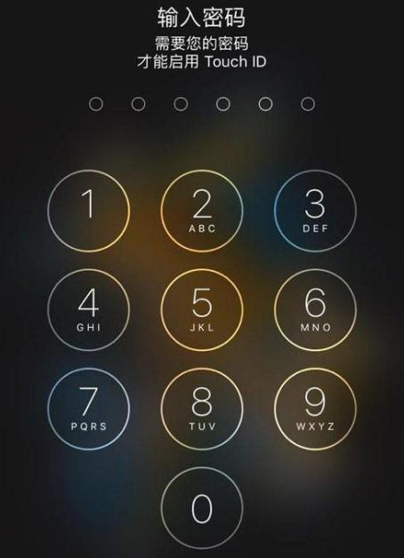 苹果手机锁屏密码忘了,怎么办?